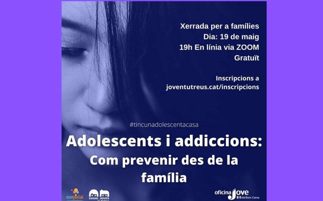 XERRADA ADOLESCENTS I ADDICCIONS